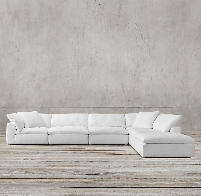 Petite Cloud Modular Chaise Sectional in 2019  Living