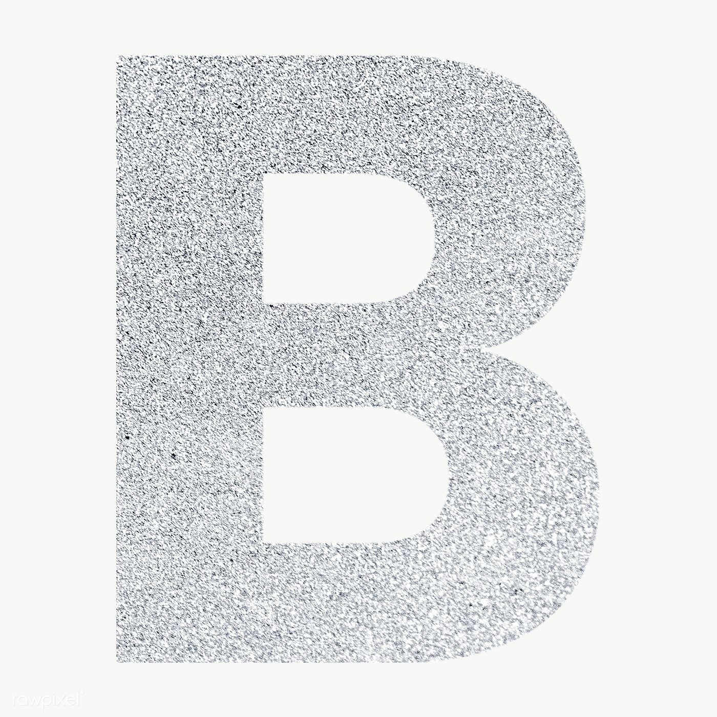 Glitter Capital Letter B Sticker Transparent Png Free Image By Rawpixel Com Ningzk V Letter B Transparent Stickers Lettering