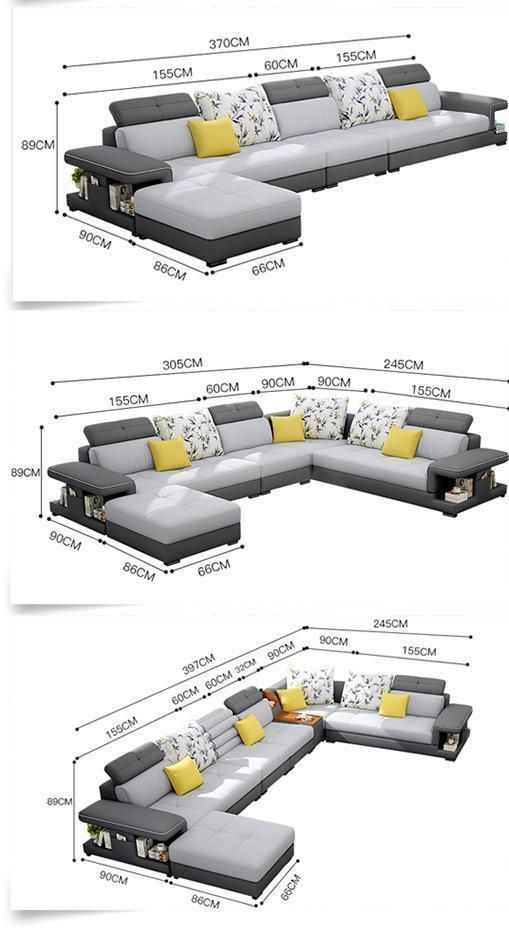 Modern Luxury U Type Fabric Sofa My Aashis Living Room Sofa Design Modern Sofa Designs Luxury Sofa Design