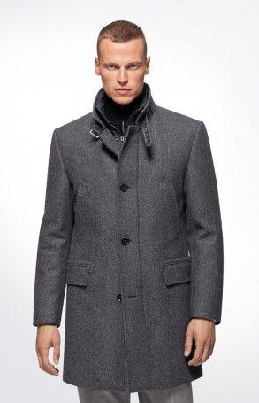 Räumungspreis genießen Mode schöner Stil JOOP! Mantel Micor in Anthrazit   fashion victim   Mantel ...