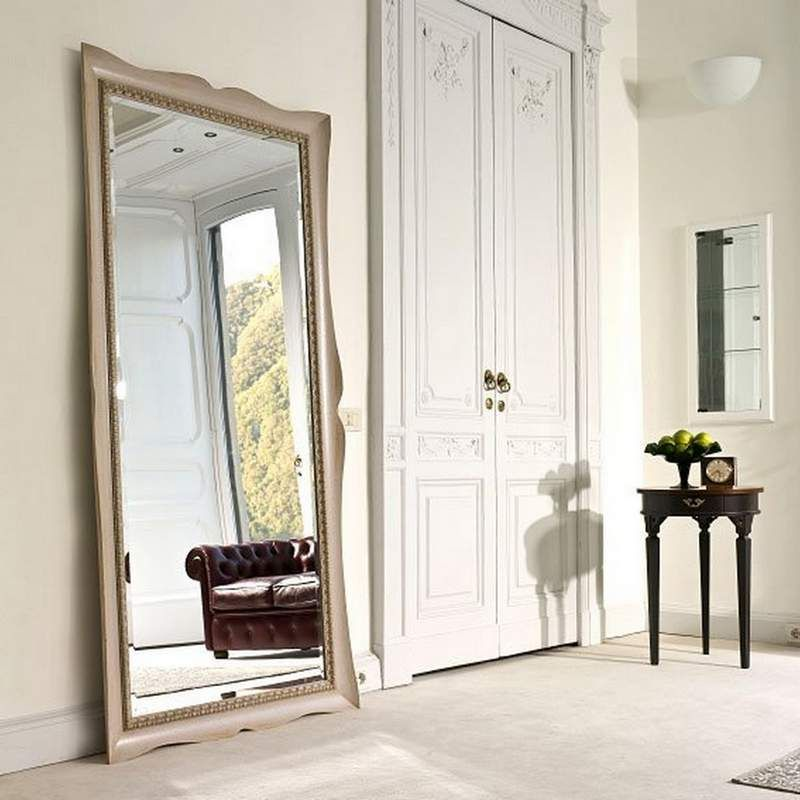 12 ideas para decorar con espejos grandes decoraciones sencillas - Espejos grandes de pared ...