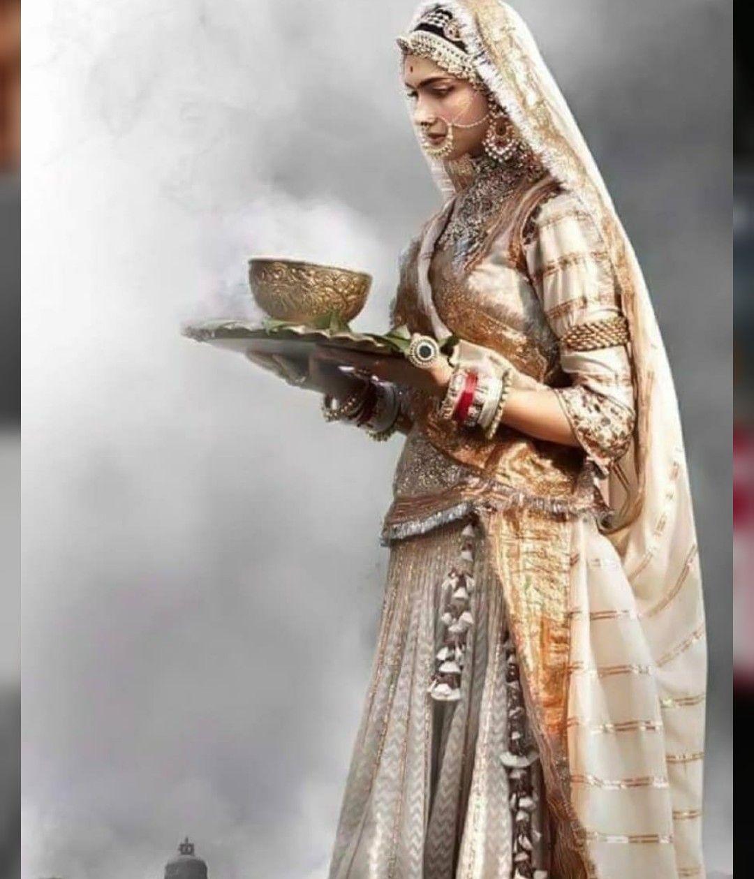 Padmavat Deepika Rajasthani Dress Deepika Padukone Style Deepika Padukone