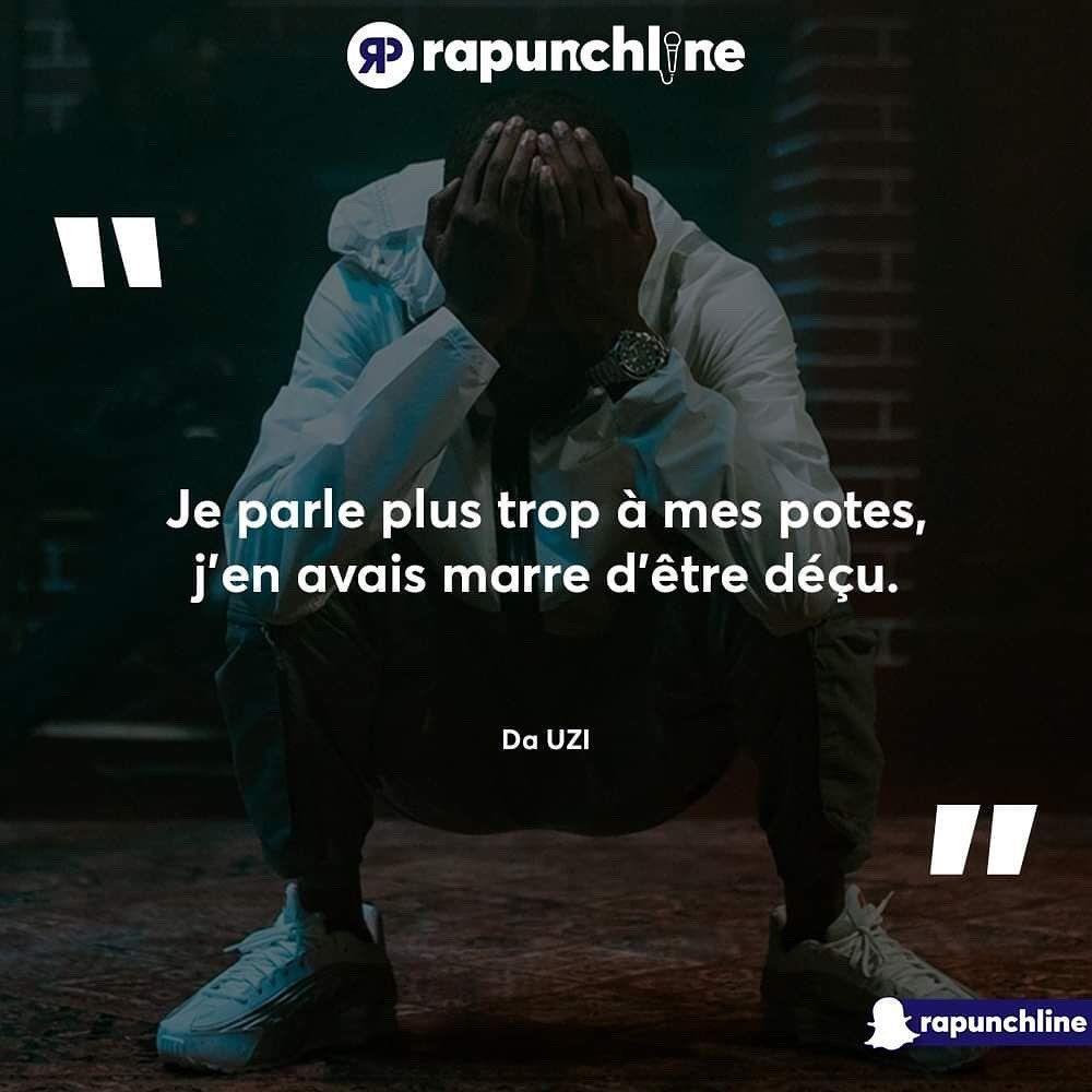 Rapunchline On Instagram Les Amities En Sens Unique C Est Problematique Citations De Rap Citation Rap Citation Rap Francais