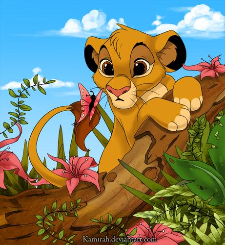 Le Roi Lion Images Cute Baby Simba Hd Fond D Ecran And Background Lion King Fan Art Lion Images Lion King Simba