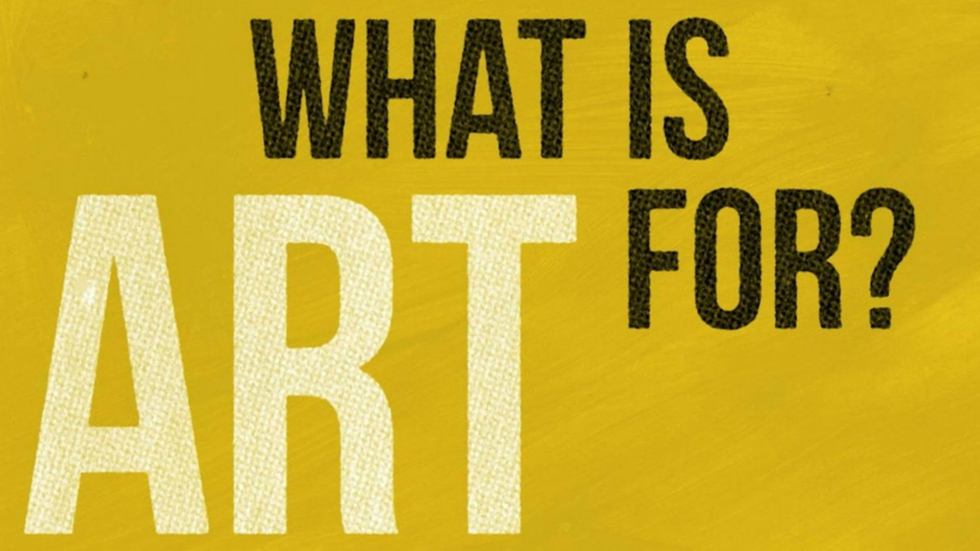 What Is Art And Design : What is art for alain de botton s animated guide and design