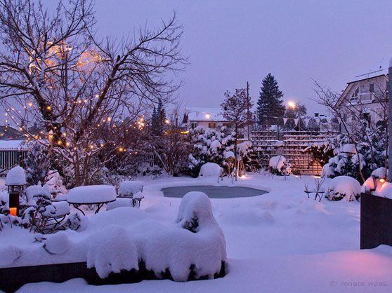 Romantische Gärten Beleuchtet | Gartenplanung, Gartendesign Und ... Gartengestaltung Im Winter