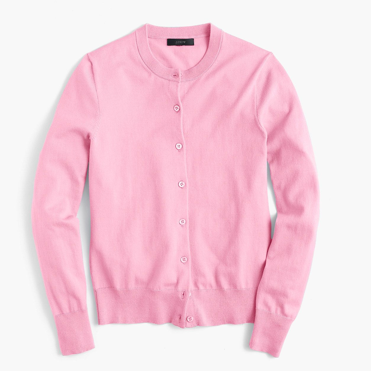 Jackie long-sleeved cardigan (sunset pink) | J.Crew | Closet ...