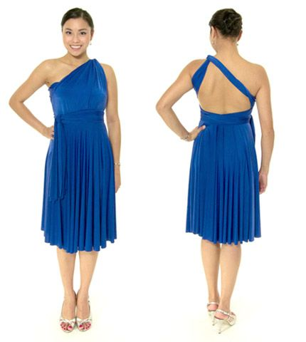 6ec0b9d0f509 Conservative One Shoulder Style (Modified Tiffany Style) with One Sided  Upside Down V Back