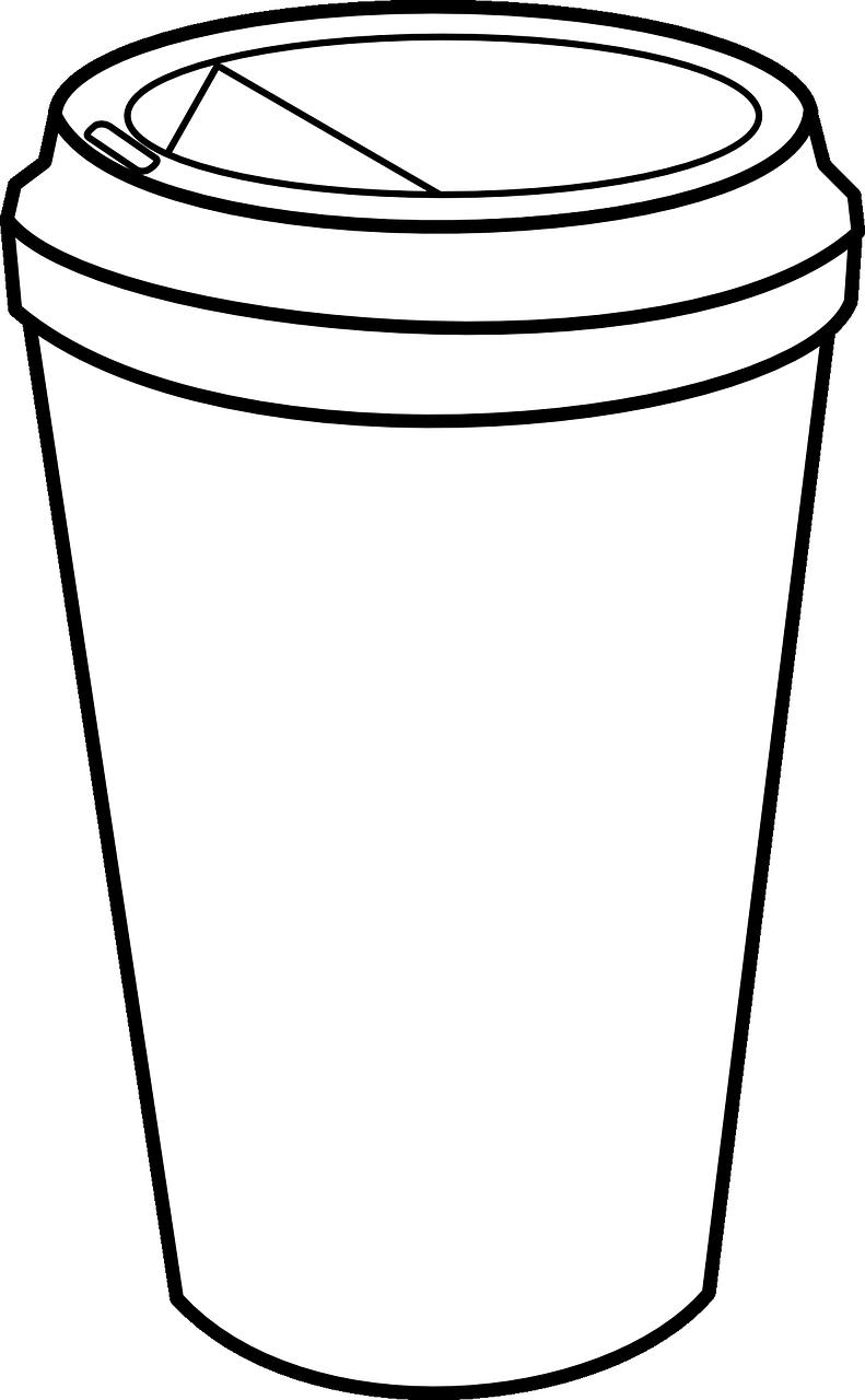Coffee, Coffee Cup Takeaway Plastic Drink Beverage #coffee