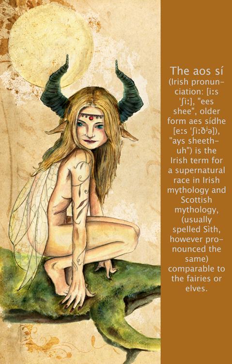 fee, the aos sí, celt mythology, fairies