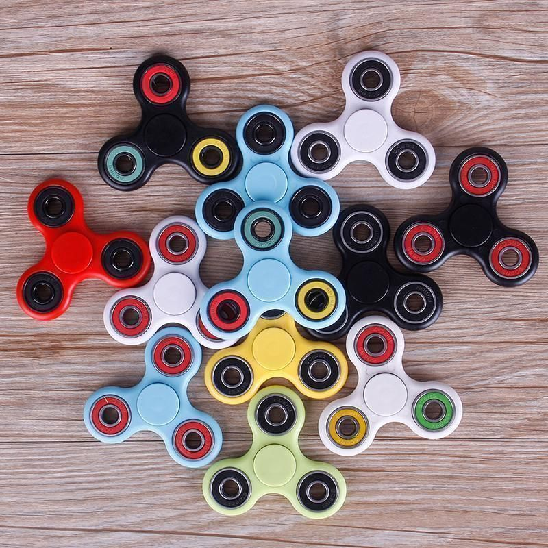 1 X Fidget Spinner Fingertip Gyro Is A Hot Us Toy Made Of Stainless Steel Bronze Titanium Or Stain Stocking Stuffers For Kids Toys Baby Developmental Toys