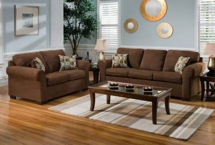 44+ Ideas living room colors with brown couch blues images