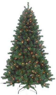 Save 16 55 On 4 Piedmont Fir Artificial Tree With 100 Clear Lights 28 Quot Diameter 230 Mi Fir Christmas Tree Artificial Christmas Tree Green Christmas Tree