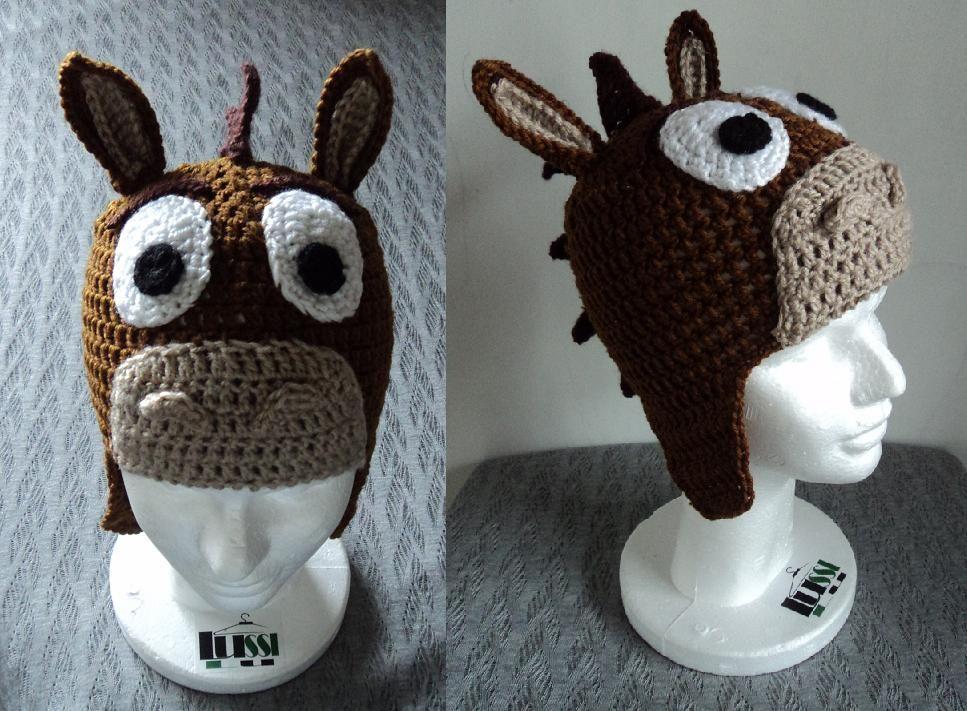 b2627d072e0f7 Tiro al blanco en crochet - toy story - Lussi Lu Zapatillas De Ganchillo