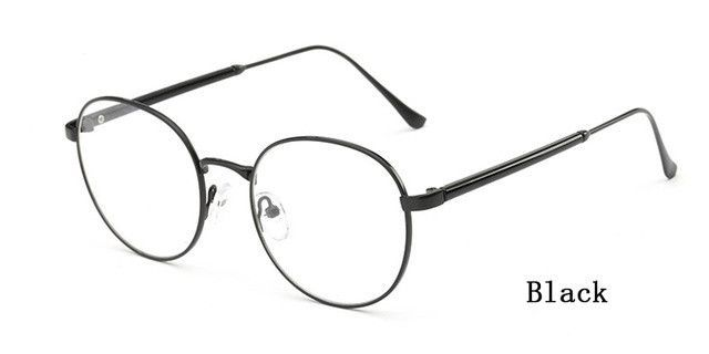 0d36f4c7717 Ralferty High Quality Round Optical Prescription Glasses Frames With Clear  Lens