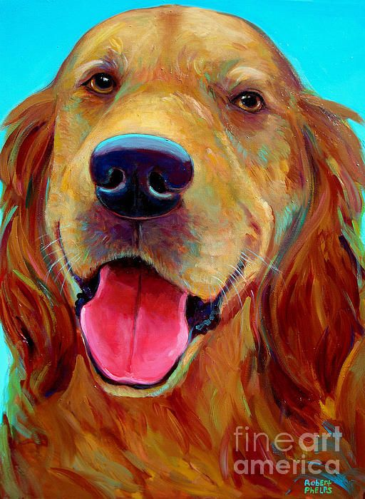 Rusty By Robert Phelps In 2020 Dog Paintings Dog Pop Art