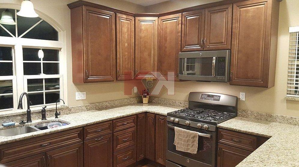 AUSTIN WILKEN   Door style GENEVA   Kitchen Cabinet Kings.   & Customer service was very helpful.