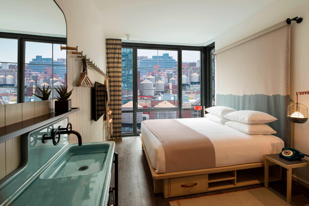 Boutique Hotel Times Square New York Moxy NYC Chelsea