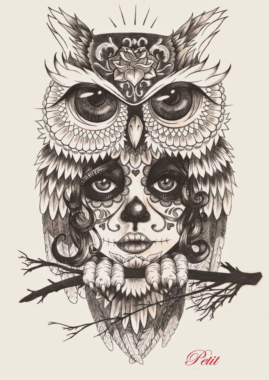 Dibujos De Catrinas Buscar Con Google Hhh Buhos Para Tatuar