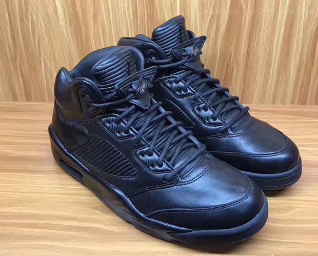 a7f12b47513 italy air jordan 5 prm triple black coming this summer nice kicks d4625  a2f7b
