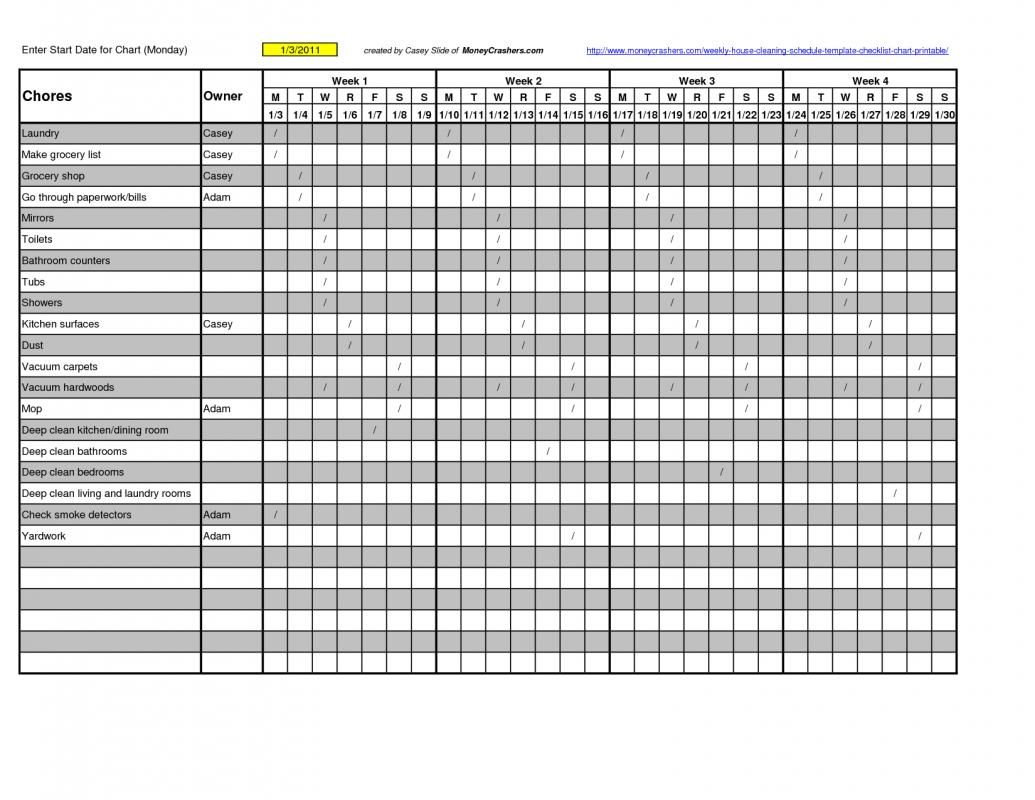 log sheet templates template pinterest clean house cleaning