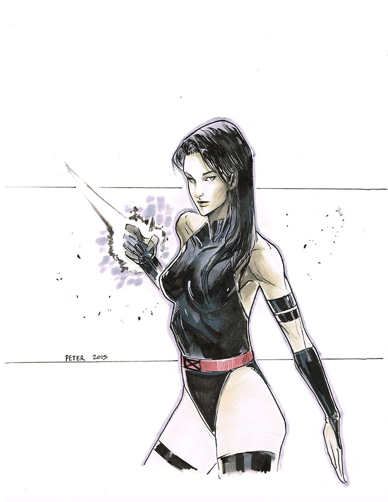Peter Nguyen posted some sketches and commissions from Amazing Hawaii Comic Con