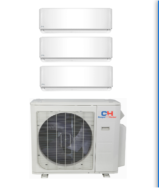 C H 3 Zones Mini Split Ac Systems In Minisplitwarehouse Com Looking For A C H 3 Zone 2 Heat Pump Air Conditioner Ductless Air Conditioner Air Conditioner Units