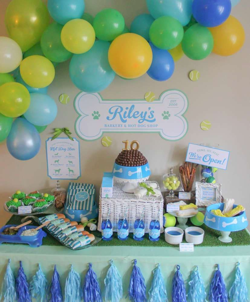 Awesome Puppy Dog Birthday Party