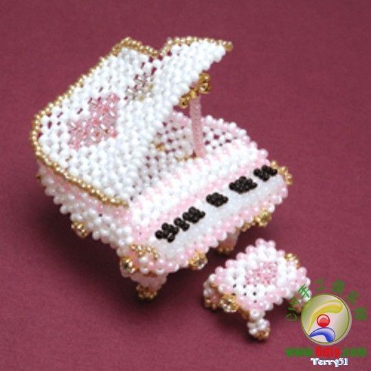 Pin von Alice Nemec auf Beads | Pinterest | Basteln mit draht ...