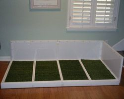 Custom Indoor Dog Potty With Side Panels for Doggie ...