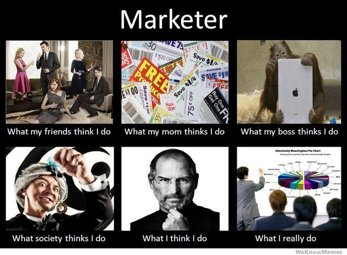 Marketer Marketing Humor Funny Marketing Marketing Meme