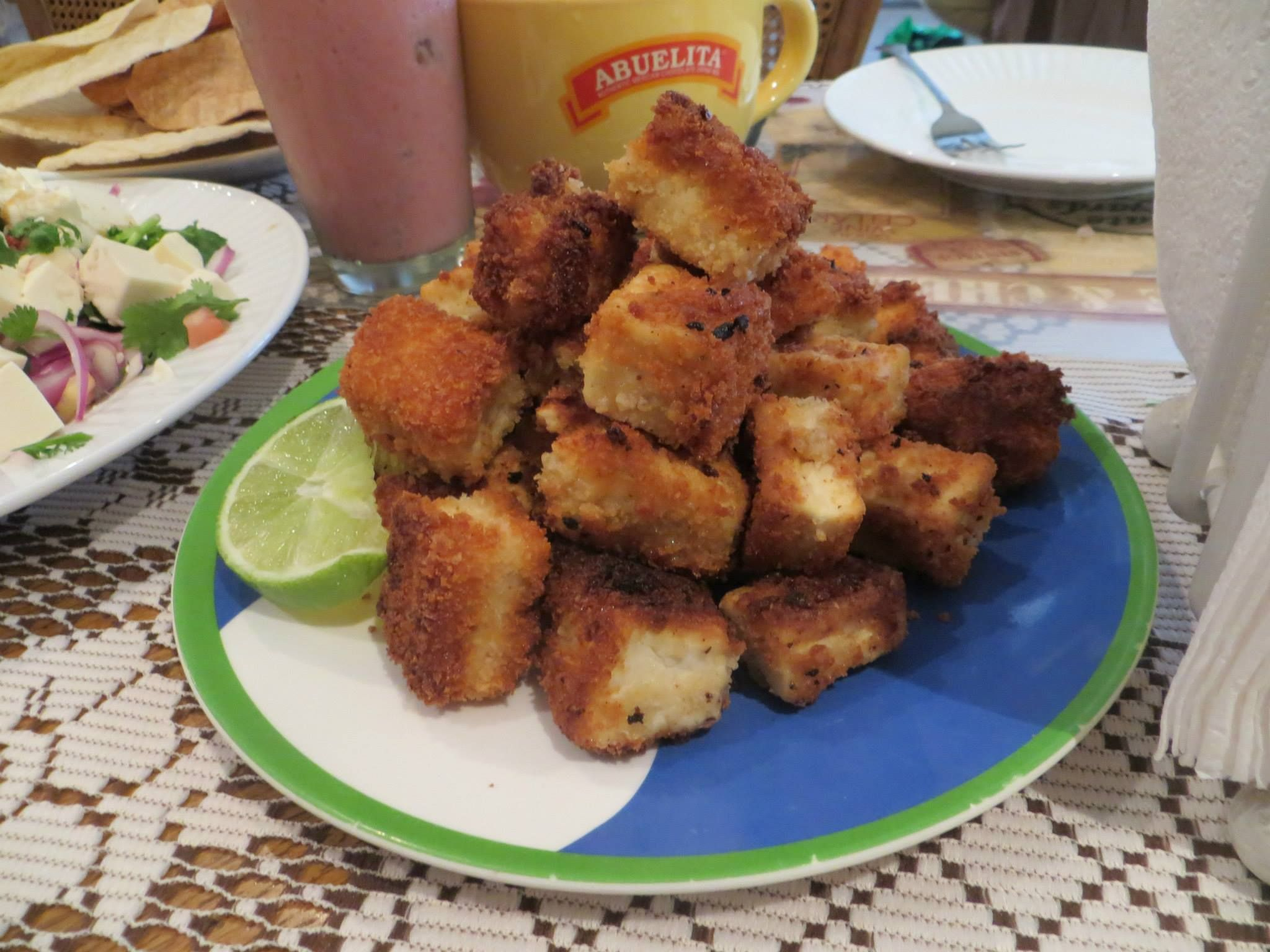 Tofu: Nuggets by Valerie