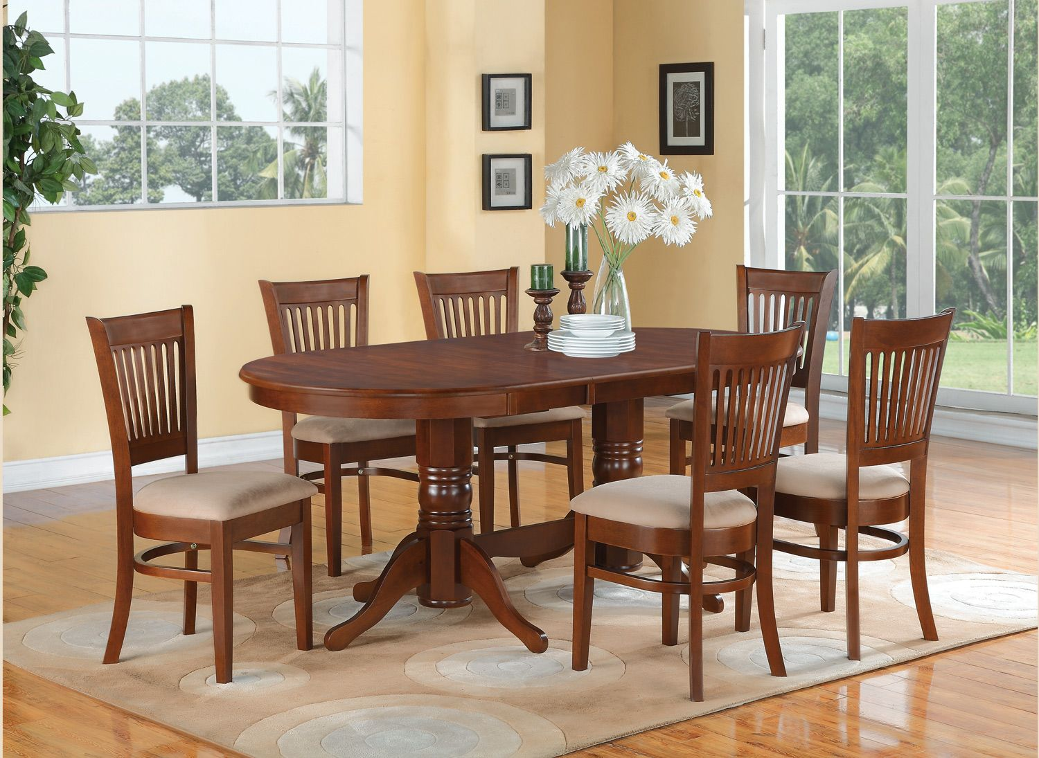 Items in DiningFurniture store on eBay   Oval dining room table ...