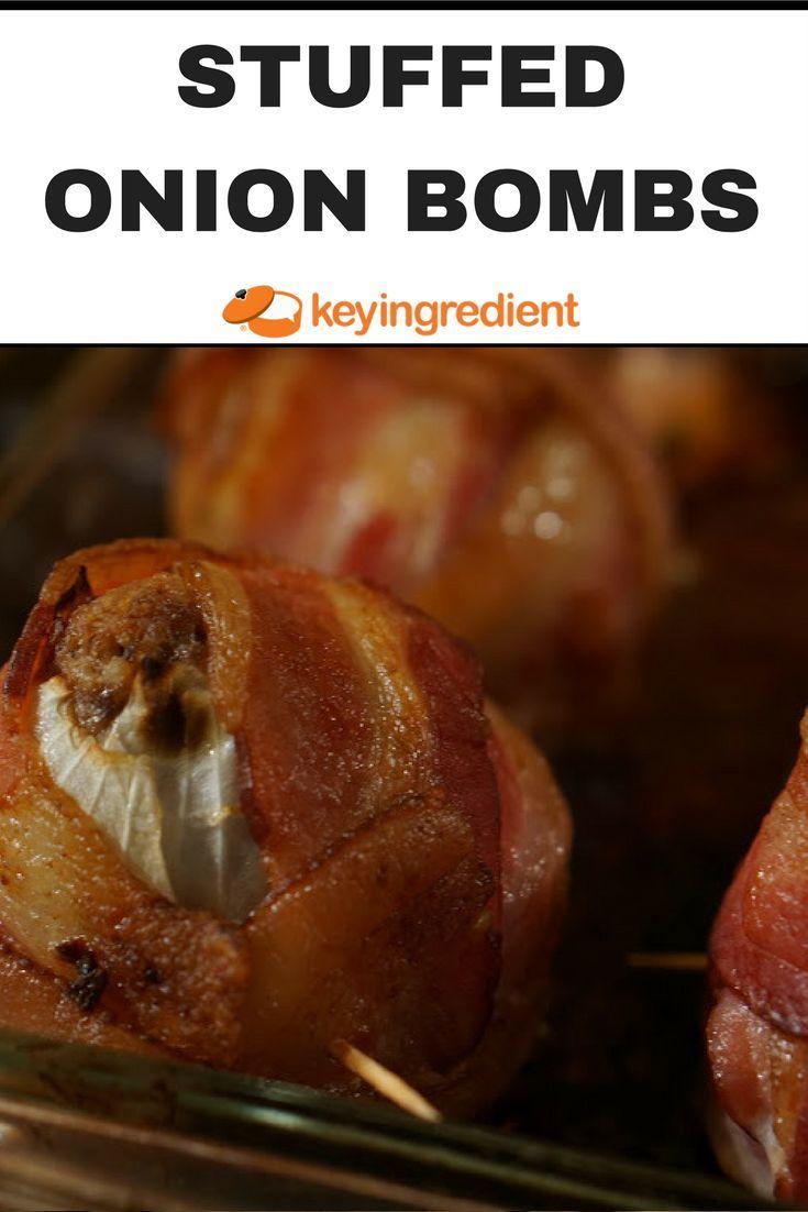 stuffed onion bombs recipe da bomb barbecue sauce and onion bombs