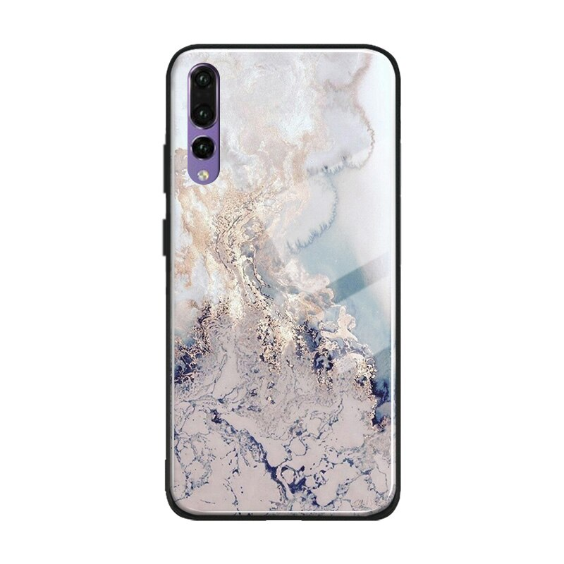 Marble Texture Marbletexture Marble Texture Pattern Soft Silicone Tempered Glass Phone Case Cover Shell For Huawei Honor In 2020 Texturen Muster Marmortextur Textur
