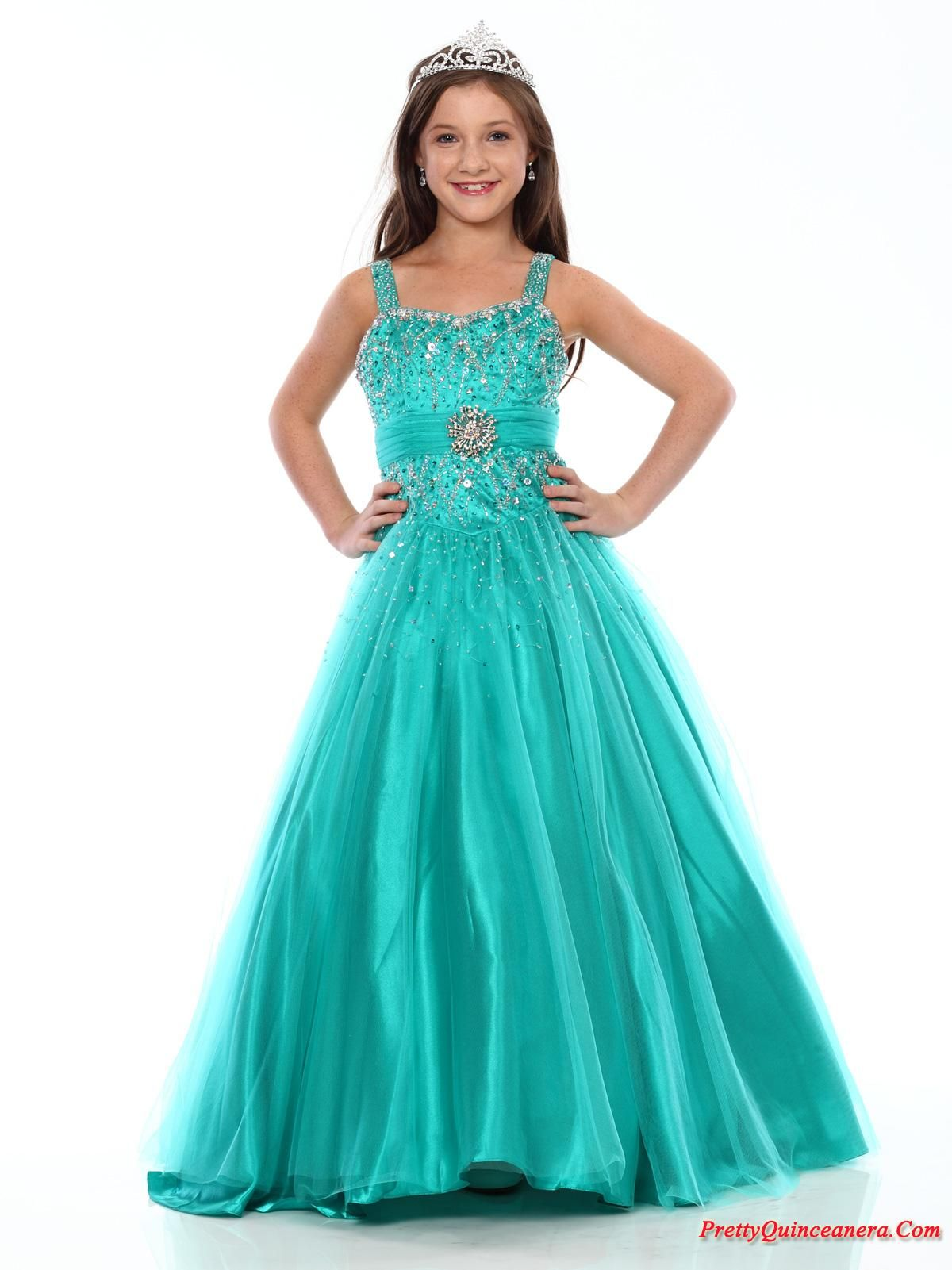 Dresses For Little Girls | little girl birthday Pageant dresses ...