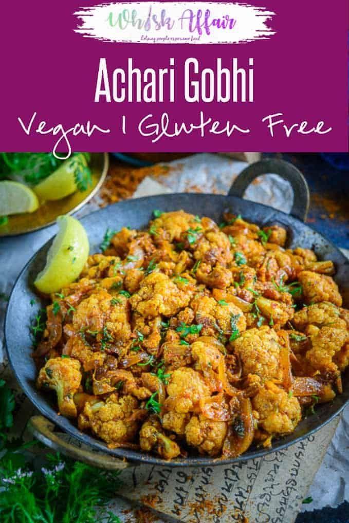 Achari Gobhi Achari Gobhi is a lipsmacking variation of the regular gobhi sabzi that you make at home. Serve with piping hot rotis and rice, you would love it!