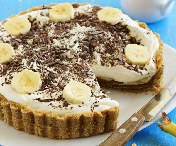 Gateau noisette chocolat banane