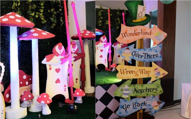 Martina S Alice In Wonderland Themed Party 1st Birthday