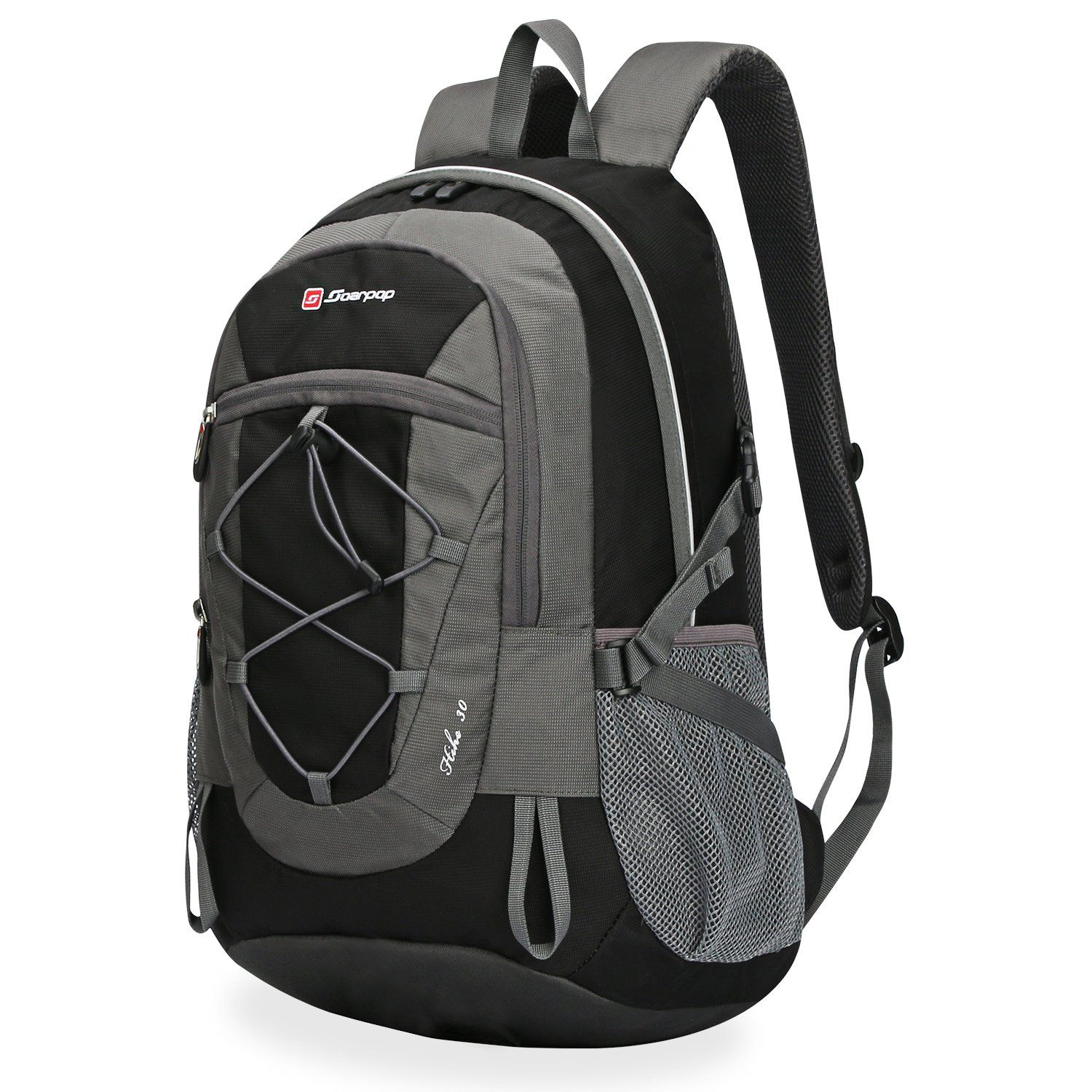 7267c04ef14c Soarpop Outdoor Sport School Lightweigh Backpack  Camping Travelling  Running Daypack. Terylene   water resistant nylon fabric.  Durable and high quality ...