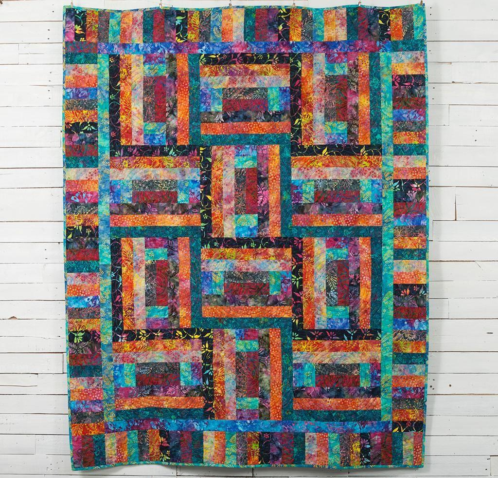 Bali Brick Road Quilt Kit Quilt Kit Quilts Plus Quilt