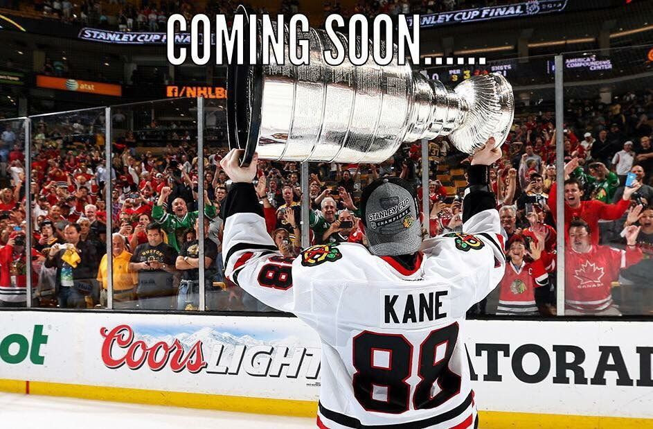 Three trips to the Stanley Cup Finals in six years!
