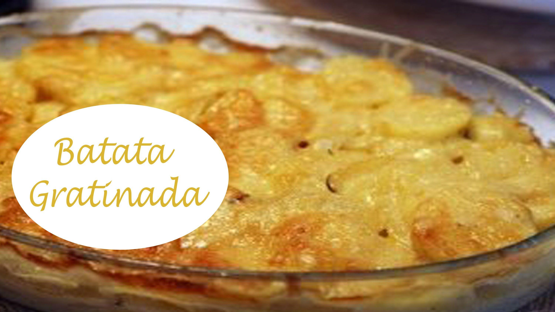 Receita Rápida - Batata Gratinada by Cristiane Costa - YouTube
