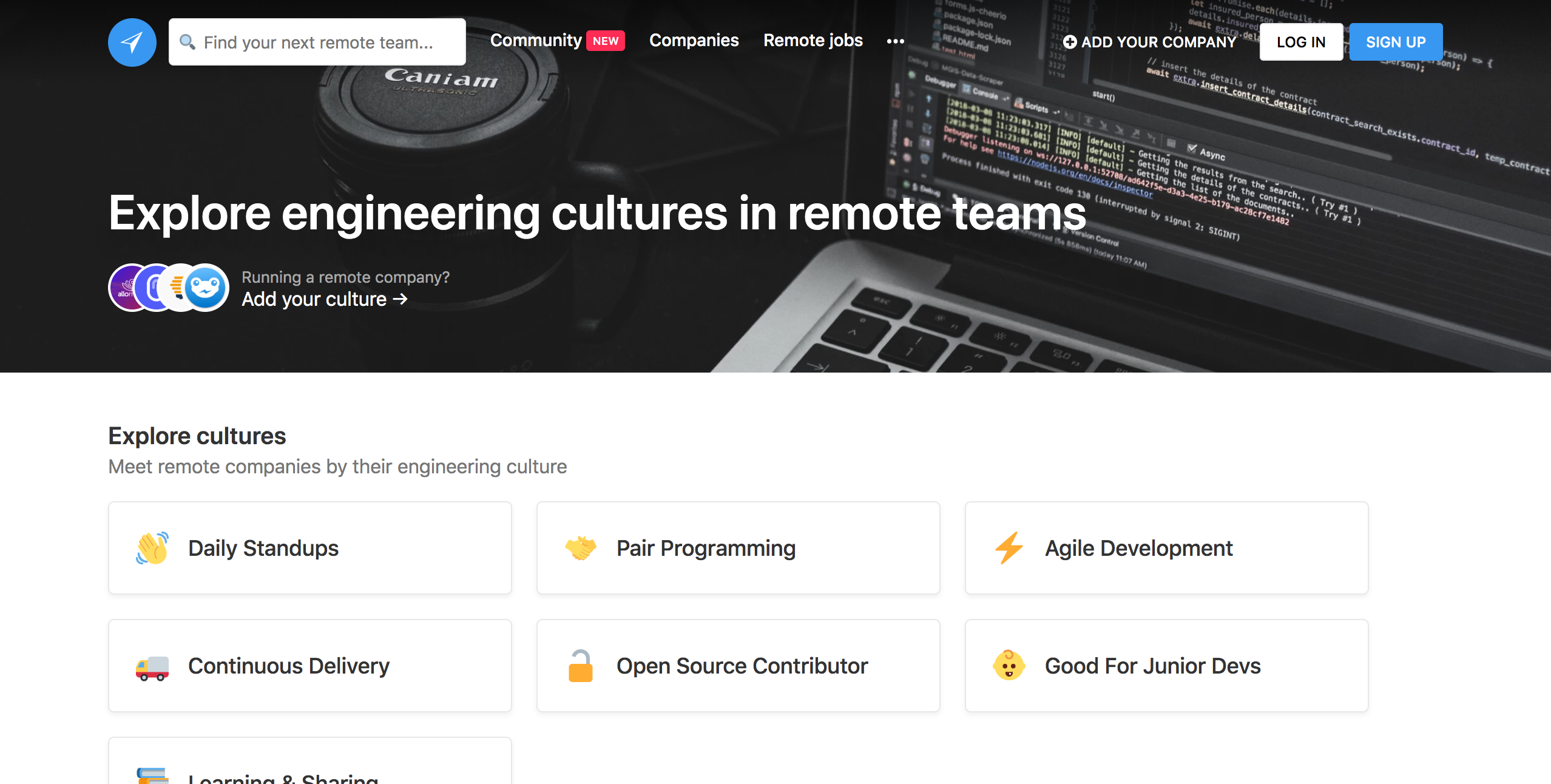 Hot new product on Product Hunt Engineering in Remote