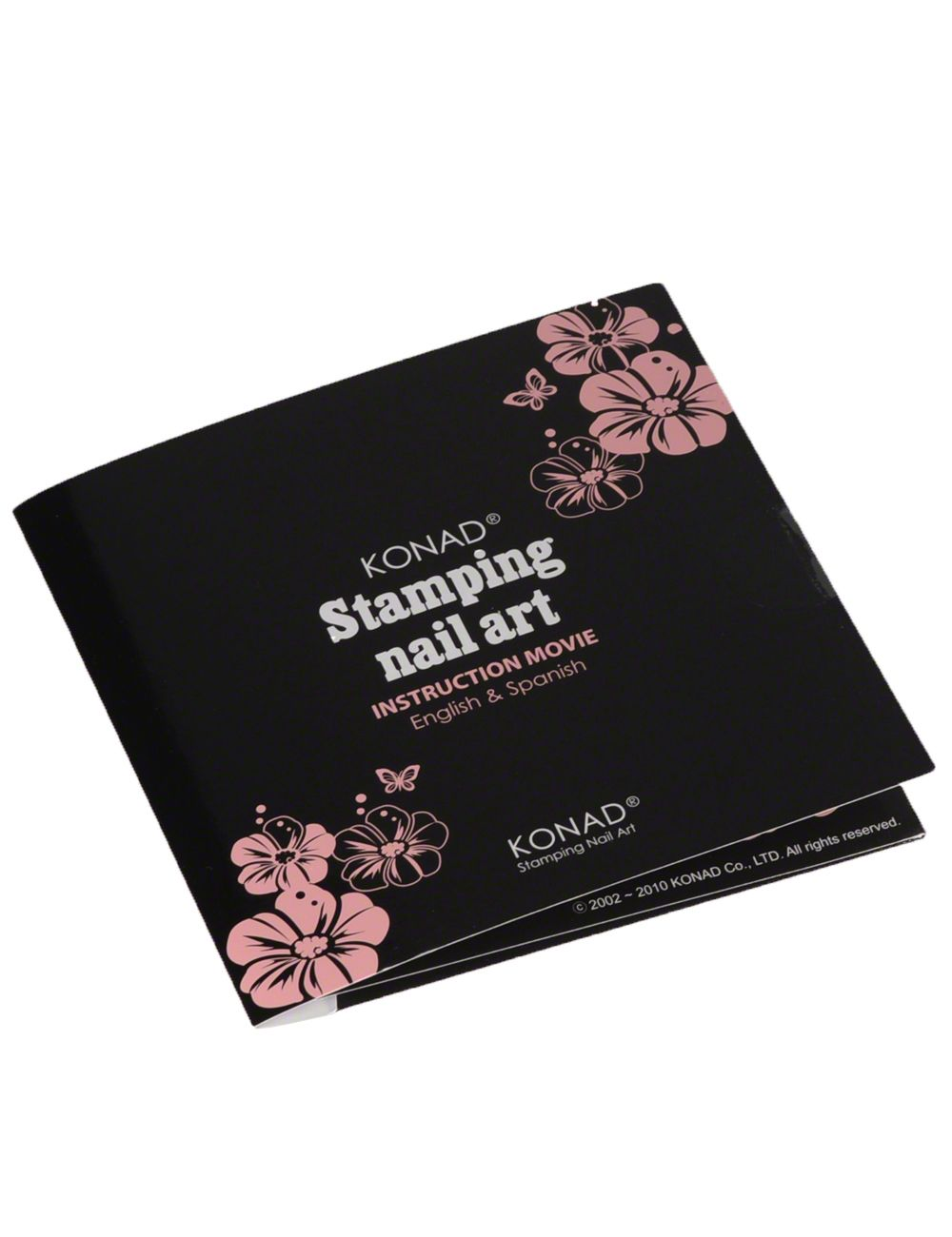 The KONAD stamping CD contains instructions for the much-loved stamping technique. Learn this lovely nail art method at your own speed. You can learn valuable tips for successful nail adornments within a few minutes.  #nded #konad #stamping #cd www.nded.com