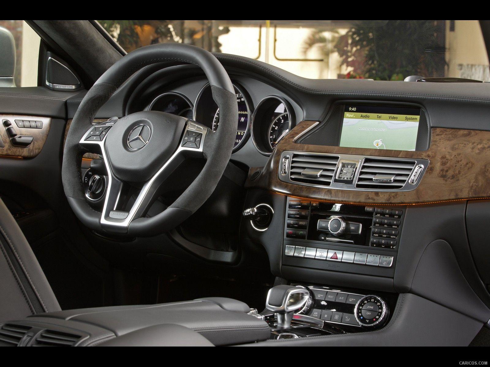 2012 Mercedes Benz Cls63 Amg Wallpaper Avec Images