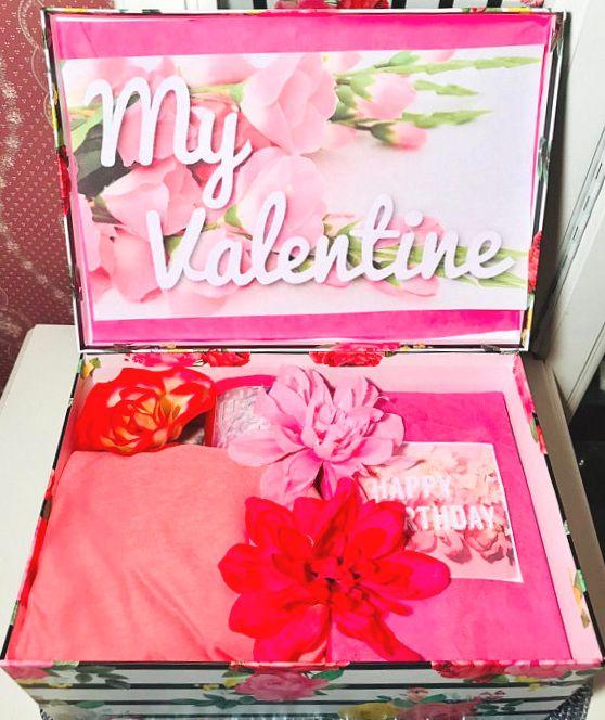 My Valentine YouAreBeautifulBox. Girlfriend Valentines Day Gift. Wife Valentines Day Gift