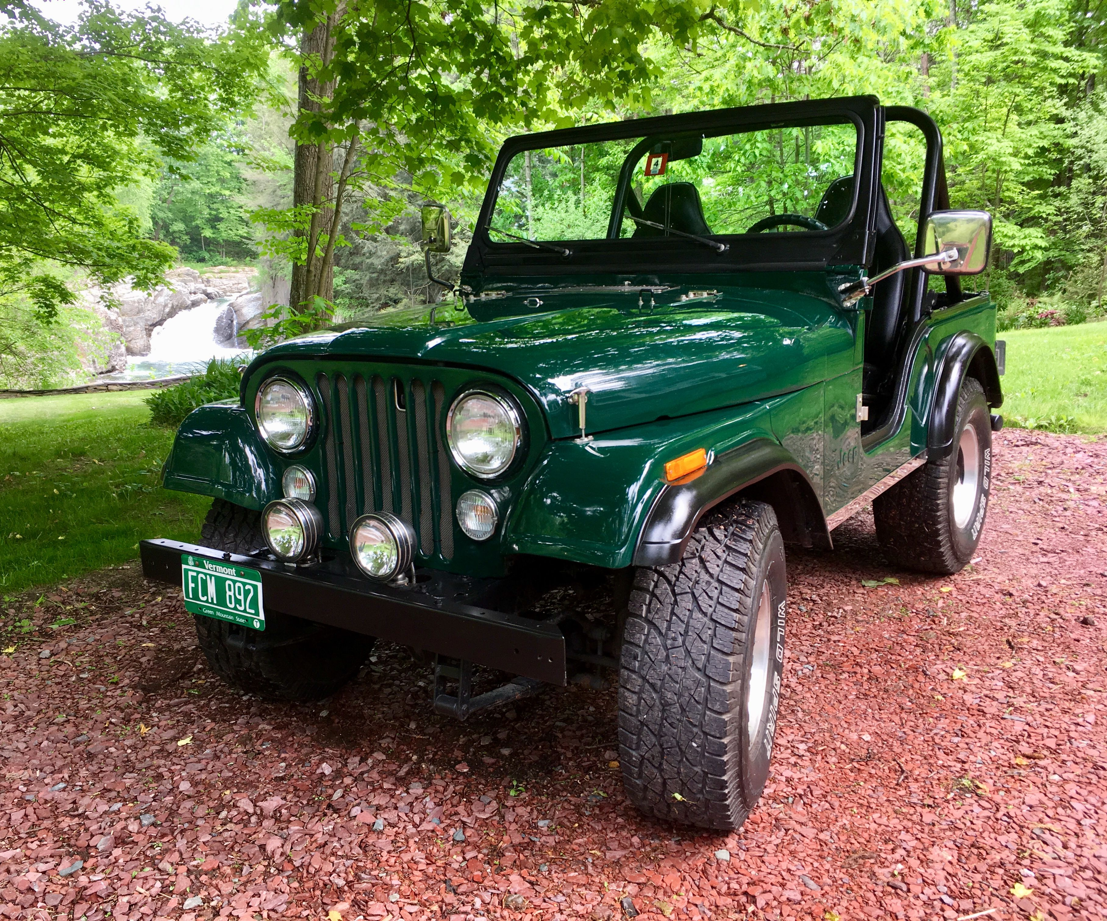This Is What Gets My Canoe To The Lake Jeep Cj5 Green Jeep