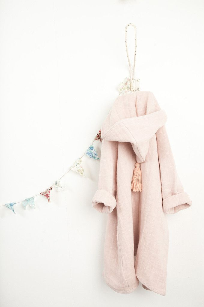 Moumout Bathrobe P 233 Pin In Faded Pink T I N Y