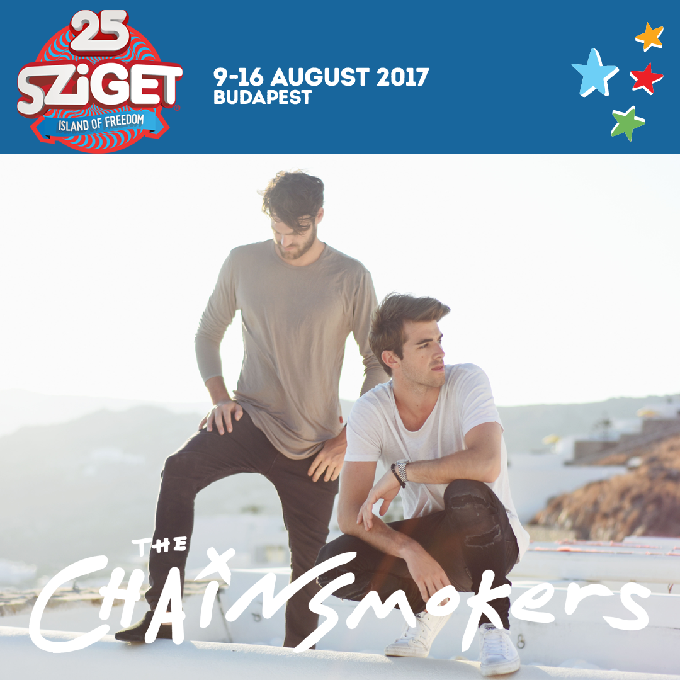 The Chainsmokers Join Sziget Festival 25th Anniversary Line Up: The Chainsmokers are coming to Sziget! They will perform on the Dan…